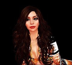 Eye Freaking Lashes! (Kara Trapdoor) Tags: secondlife cheerleader karatrapdoor talamascabengals