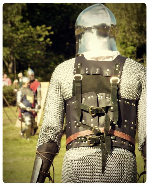 Herstmonceux Medieval Festival ~ battle