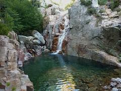 Entre la confluence Valdu Grande et la triple vasque-cascade : la 1ère cascade après la confluence