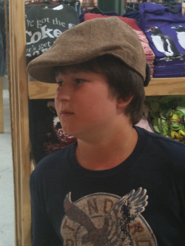 Griff and the fedora 5