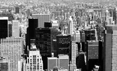 The Urban Sea (JTContinental) Tags: urban blackandwhite newyork detail skyline architecture skyscraper buildings cityscape manhattan bigmomma challengeyouwinner thechallengefactory jtcontinental herowinner