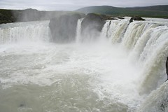 Cascata Goðafoss ou Godafoss Islândia