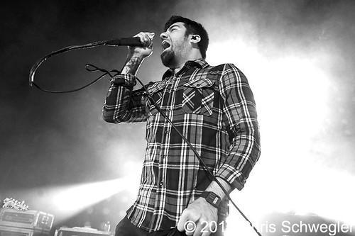 Deftones - 09-17-10 - Blackdiamondskye Tour, DTE Energy Music Theatre, Clarkston, MI