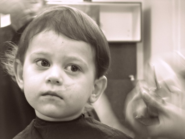 first haircut.