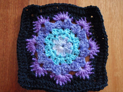 Ravelry Woollys Snowflake Square Pattern By Letitia Sherriff