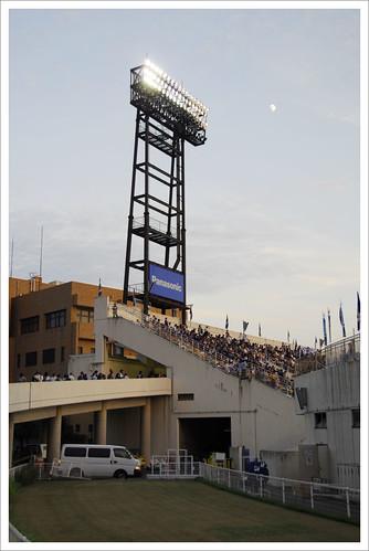 万博スタジアムのスロープ@ガンバ大阪 VS セレッソ大阪