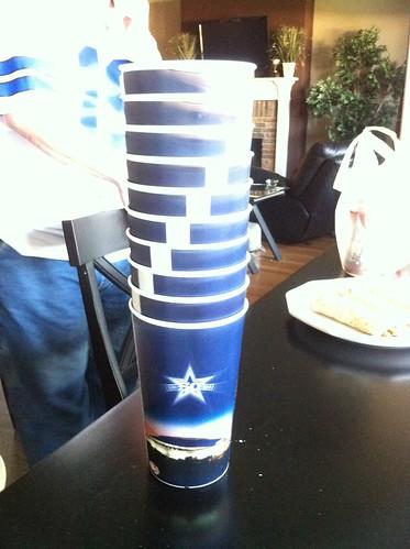 2010 cowboys stadium cups