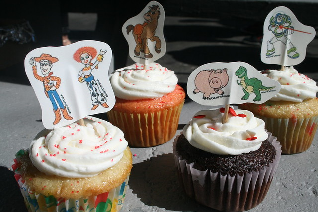the boy-friendly cupcakes