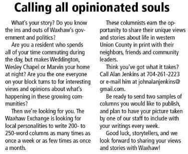 Calling all opinionated souls