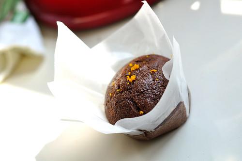 Vegan Chocolate Orange and Ginger Cupcakes