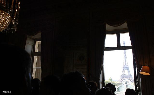 On a une des plus belles vues de Paris