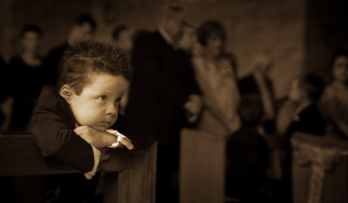Studio Valentine Photography - Pageboy in a Chapel