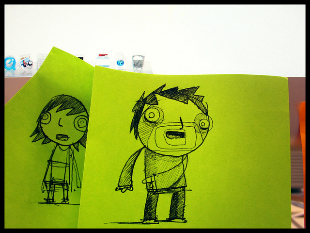 Post-it Note People