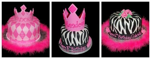 Tiara Zebra Print Cake Inspiration