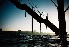 pier steps (lomokev) Tags: sea water silhouette pier nikon brighton kodak steps kodakportra400vc stairway portra brightonpier palacepier nikonos kodakportra400 kodakportra deletetag nikonosv nikonos5 nikonosfive waterpalacepier file:name=100913nikonosvvc30 roll:name=100913nikonosvvc