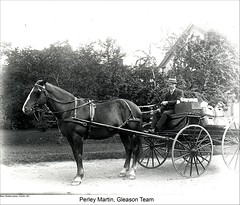 Horse and Buggy, Dublin New Hampshire (Keene and Cheshire County (NH) Historical Photos) Tags: horse wagon harness horseandcarriage horseandbuggy dublinnh dublinnewhampshire maryerobbe perleymartin gleasonteam