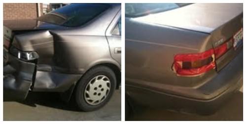 Paul's Jacked Up Car
