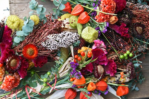 fall bouquets at the Minneapolis Farmers Market