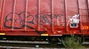 Deface (mightyquinninwky) Tags: overgrown de graffiti weeds tag graf tags tagged railcar boxcar graff graphiti freight hollow gravel d2 adk hollows deface trainart dst fr8 railart spraypaintart reflectivetape freightcar boxcarart freightart taggedboxcar paintedboxcar paintedrailcar paintedfreight taggedrailcar taggedfreight