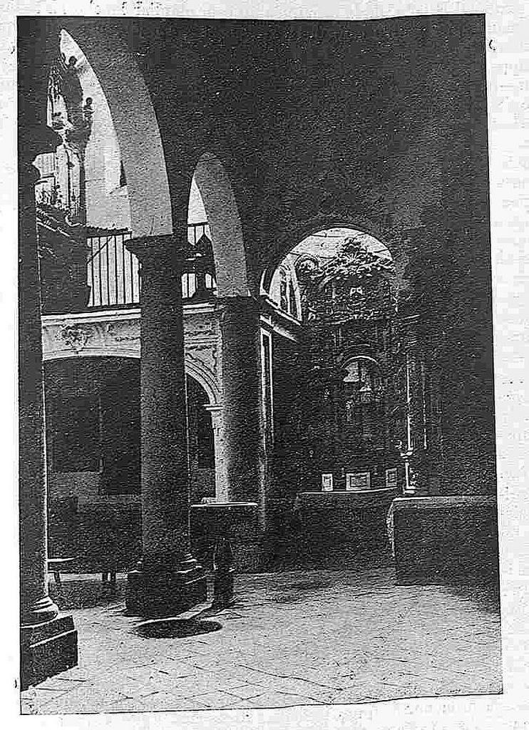 Iglesia de San Andrés hacia 1930. Foto Clavería