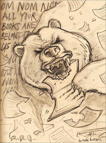 ZOMG -- Book Bears!