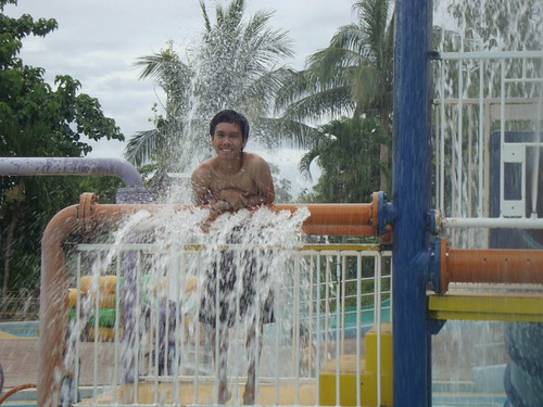 Me Enjoying Splash Island
