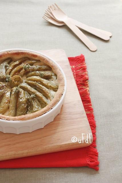 Crostata di pomodori verdi