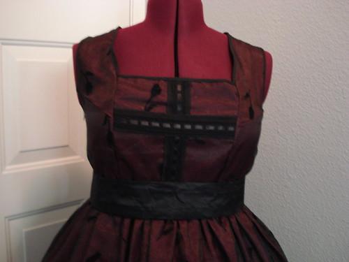 Maroon Gothic Lolita 04