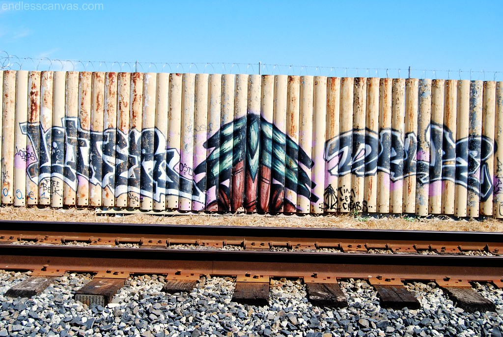Loiter, Plant Trees, Drupe Graffiti in Hayward California.