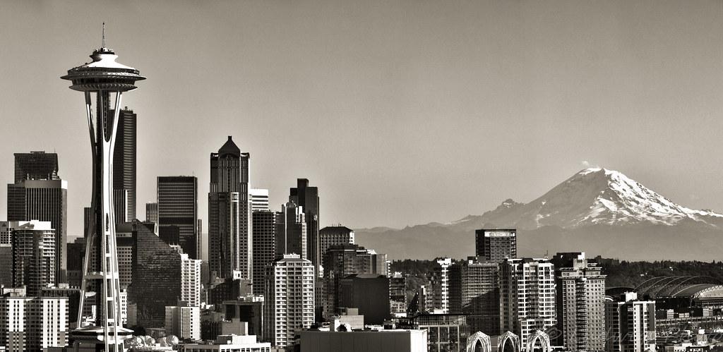 Seattle B&W Redux