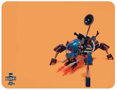 Hive Defender (The Slushey One) Tags: one spider lego alien slush slushy hive mecha defender slushee slushey
