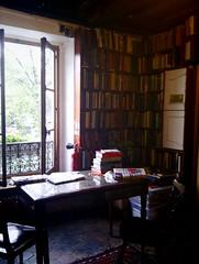 The lovely reading room