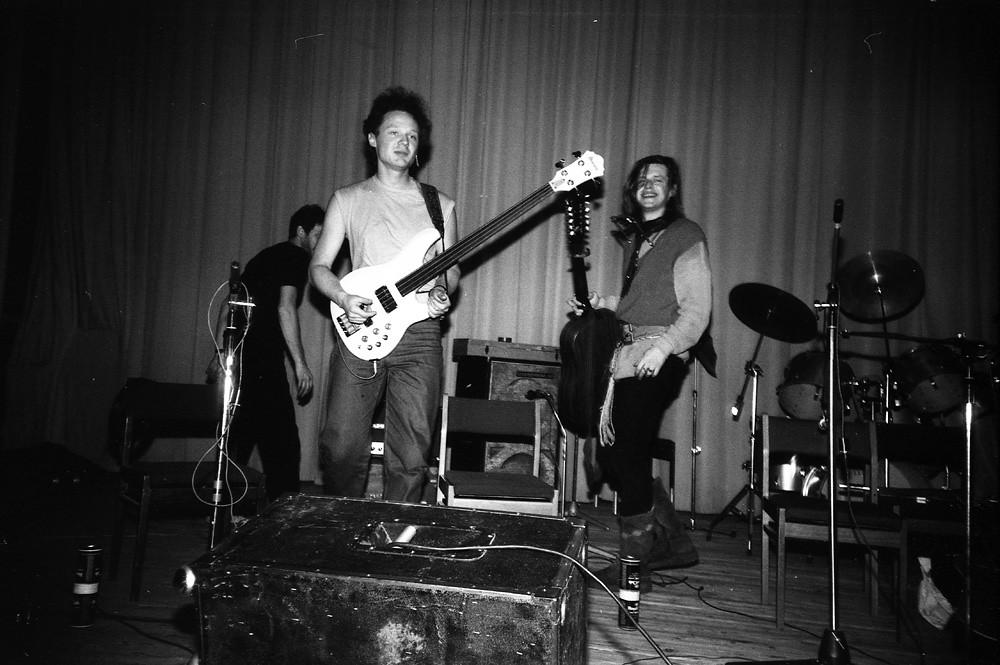 Аквариум/ Курчатник/ Москва 1986