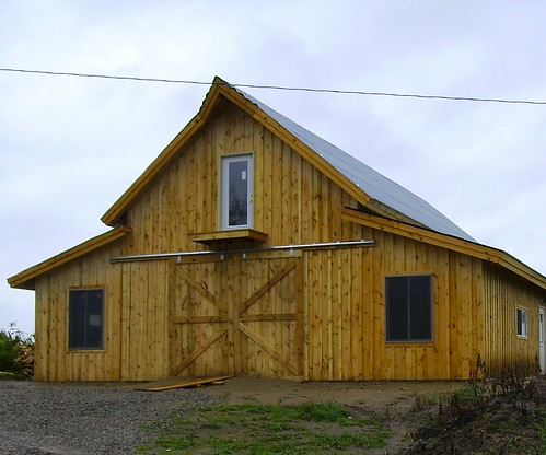 Astounding A Post And Beam Barn Kit That You Can Build Yourself Home Remodeling Inspirations Genioncuboardxyz