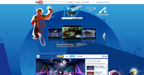 Playstation move youtube channel