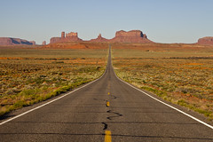 The Long Road (seryani) Tags: road arizona usa canon landscape utah highway scenery view desert camino carretera path explore vista navajo redrock monumentvalley 2470l indianreservation navajoindianreservation 2470 explored canoneos5dmarkii 5dmarkii