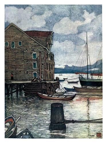 006-Viejo almacen y barcas en Molde-Norway 1905 -Nico Jungman
