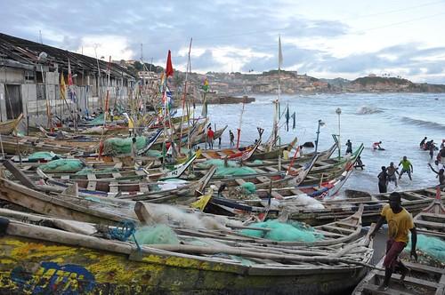 Cape Coast fishing fleet