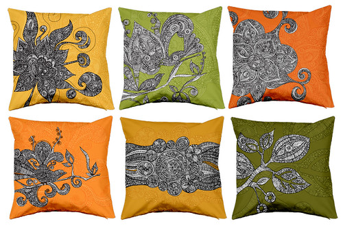 Set of pillow covers