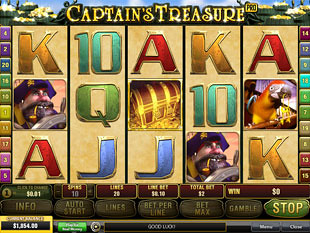 Captain's Treasure Pro slot game online review