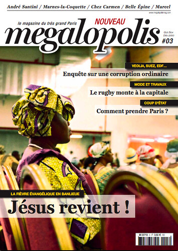 Megalopolis - Couverture #3