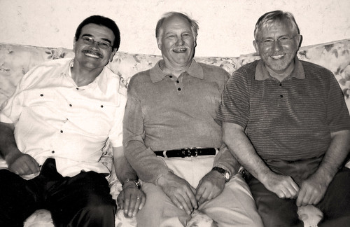 dad with al and bill