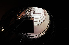 villa girasole 11 (Doctor Casino) Tags: stairs elevator stairway angeloinvernizzi sunflowerhouse 19291935 ettorefagiuoli