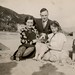1944 Cyfeillion i'r Abermaw  / Barmouth friends of Ivy and  Margaret Alston -  Mr. a / and Mrs Thorpe , Dorothy a / and 'Gerald'
