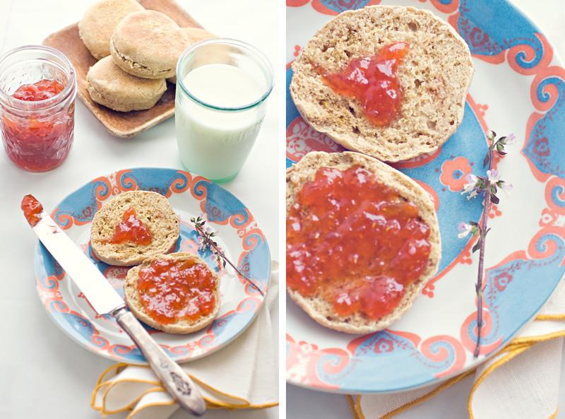 English-Muffins-and-Jam