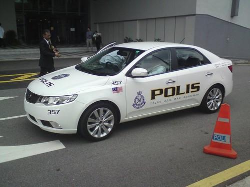 KIA Forte - Malaysia Police CAR