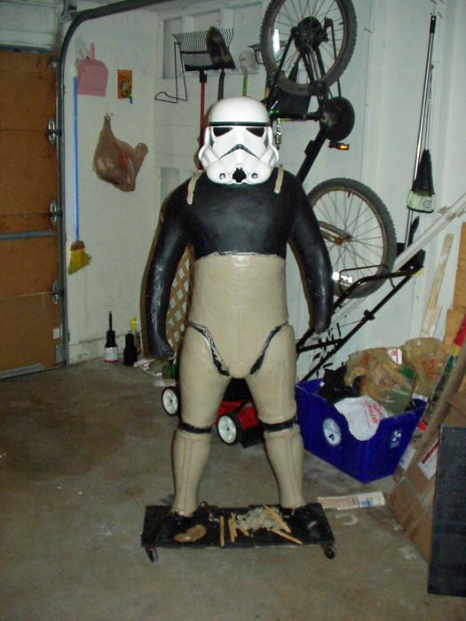 Early Stormtrooper Sculpt