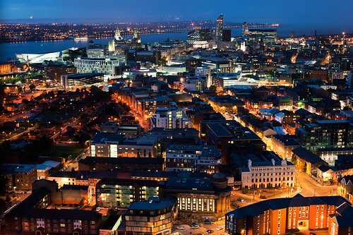 Liverpool and Wirral Skyline