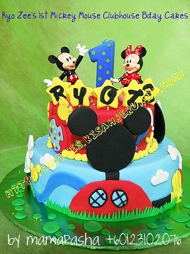 #2 Mickey Mouse Clubhouse Cakes