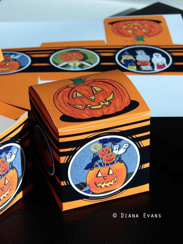 halloween box samplea